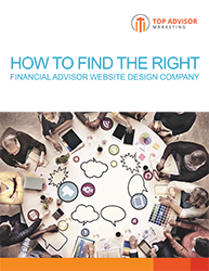 How to Find the Right Financial Advisor Website Design Company