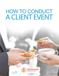 How To Conduct A Client Event