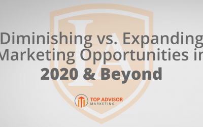 Diminishing vs Expanding Marketing Opportunities in 2020 & Beyond