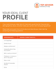 Ideal Client Profiling