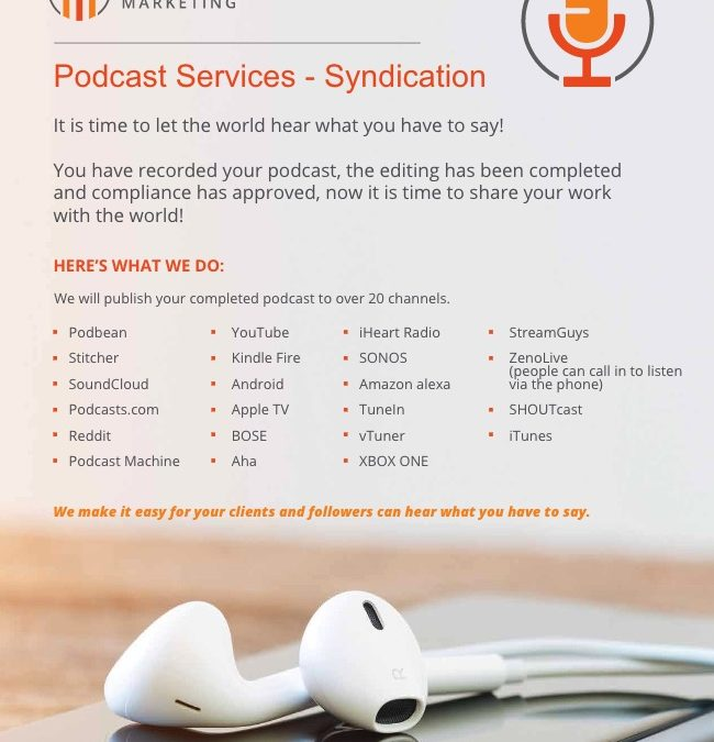 Advisor Podcast Syndication