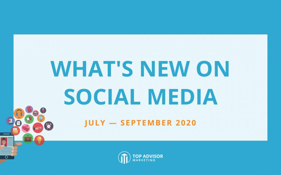 Social Changes Report 2020 Q3