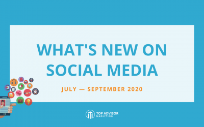What's New on Social Media: July – September 2020