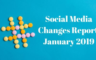 Social Media Changes – January 2019