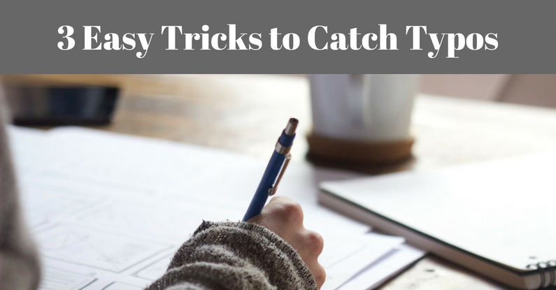 3 Easy Tricks to Catch Typos