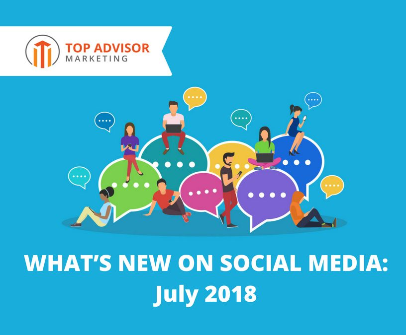 Social Media Monthly Updates