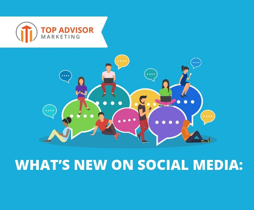 Social Media Monthly Updates