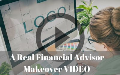 Financial Advisor Website Makeover VIDEO