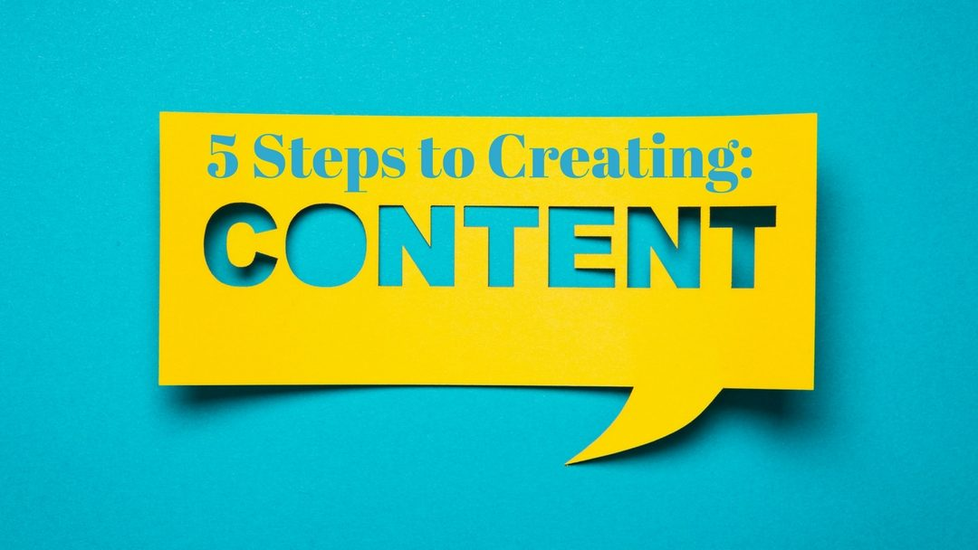 Steps to Create Financial Content